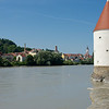 This tower remains as part of the old city walls of Passau.
