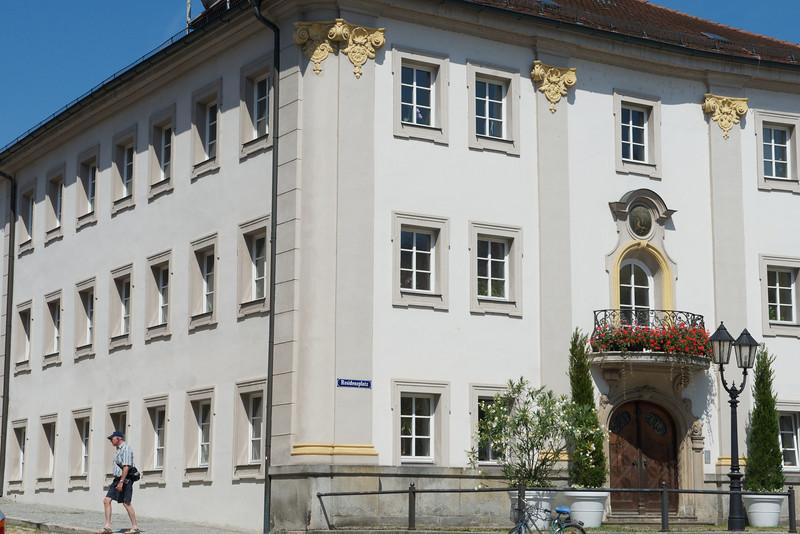 Residenzplatz square.