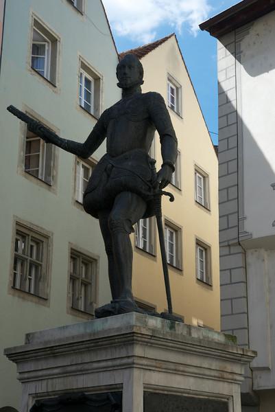 Don Juan statue.