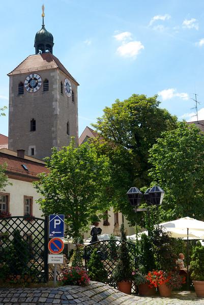 St. John's Church bell tower.