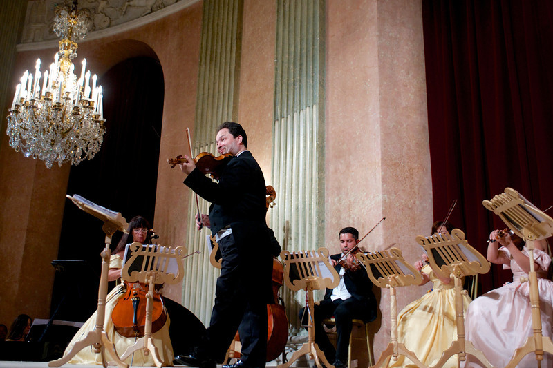 This concert featured a talented 10-piece orchestra, ballet dancers and opera singers.