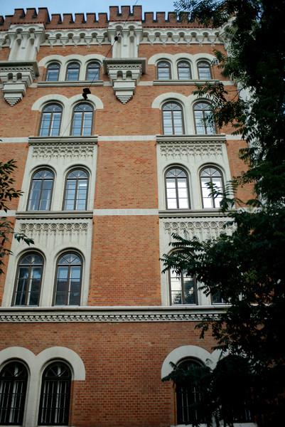Architectural details abound in Vienna.