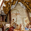 Fresco depicting the Holy Roman past.