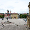 View of Würzburg with Dom Killian's spires in the foreground.