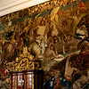 Tapestry in the Venetian Room.