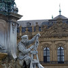 The Franconia Fountain depicts Tilman Riemenschneider.