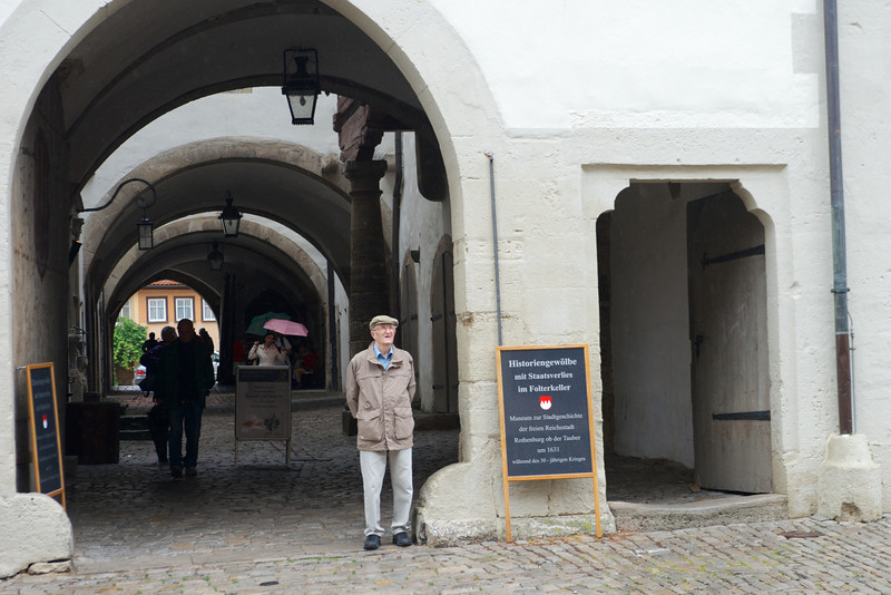 Reichsstadtmuseum in Rothenburg.   The town's history museum in a former Dominican abbey.