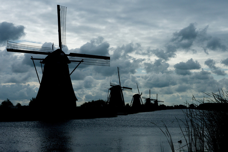 Kinderdijk is truly a unique and magical location.