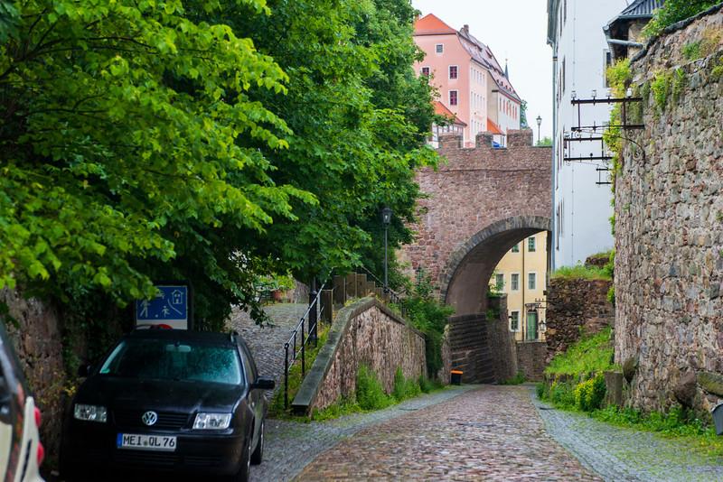 Meissen town.