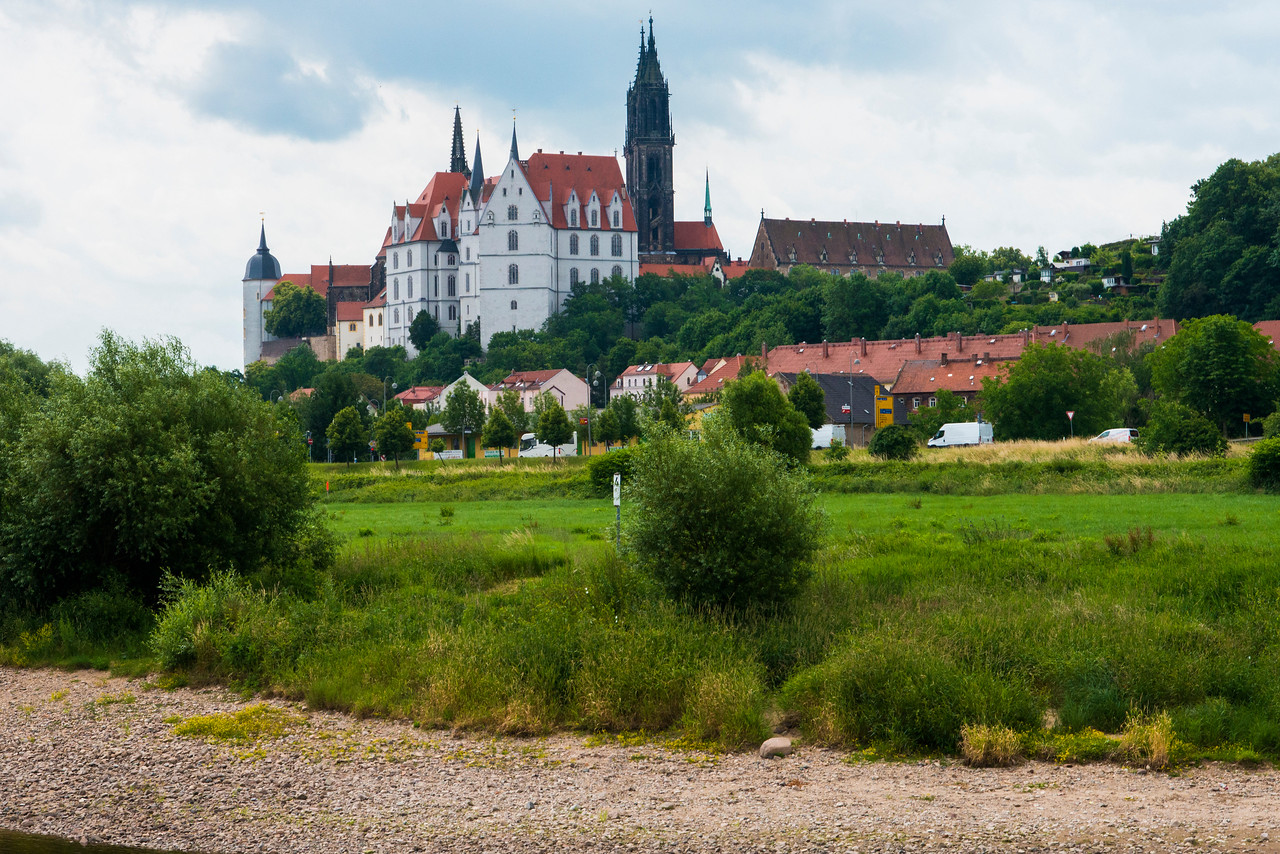 Albrechtsburg Castle and Cathedral, Meissen.