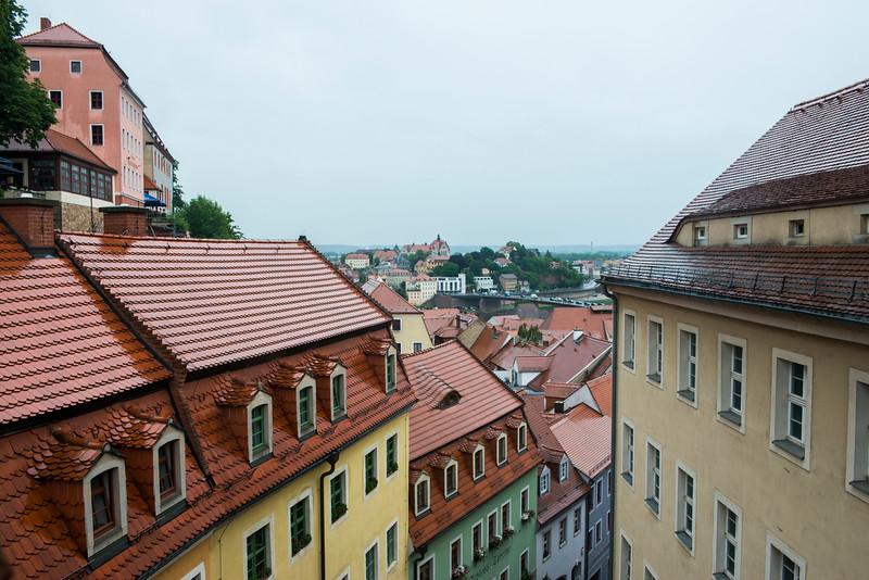 Dramatic elevations in Meissen.