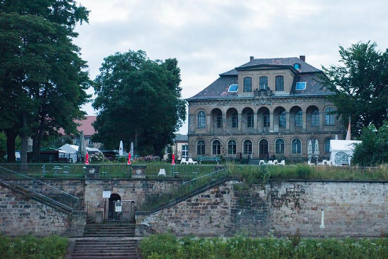 Meissen riverfront.