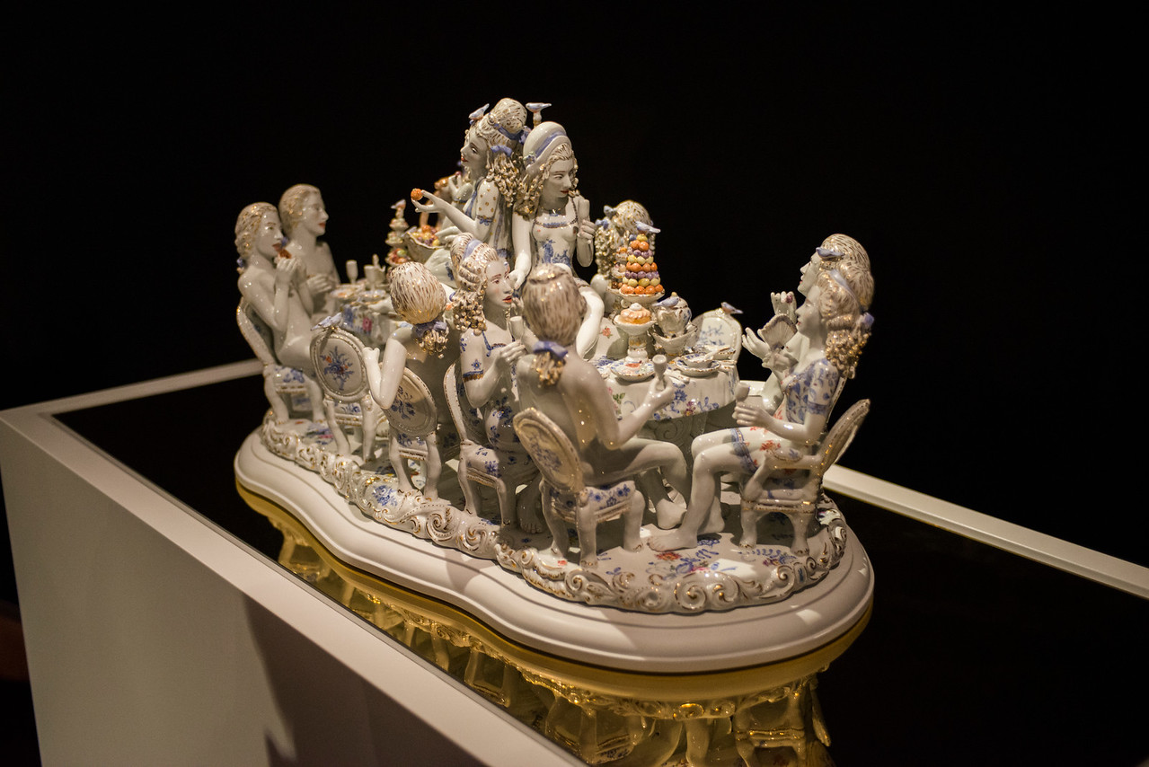 Porcelain party.