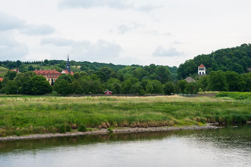 Countryside near Hirschstein.