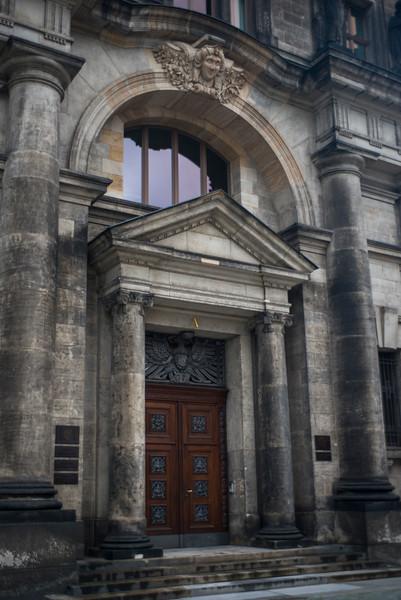 Entrance detail.