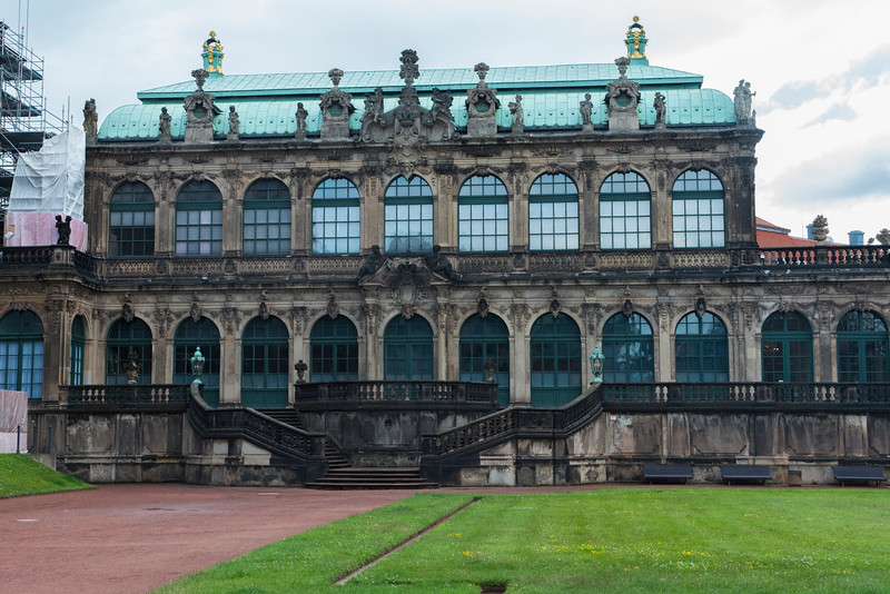 View from Zwinger courtyard.
