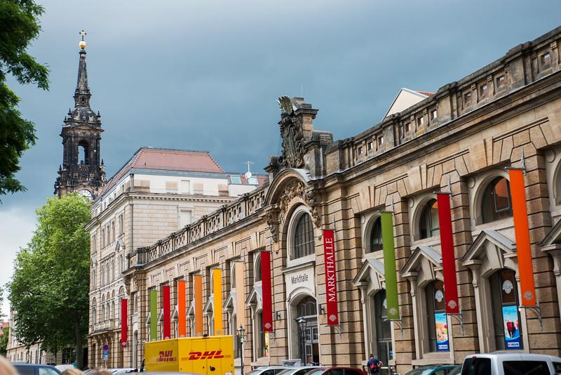 Neustadter Markthalle ( New Marketplace), Dresden.