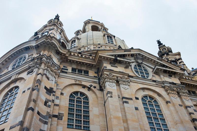 Frauenkirche, Dresden.