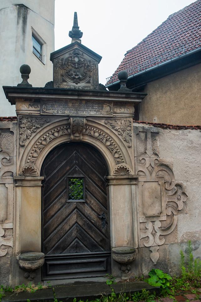 Doorway in Meissen.
