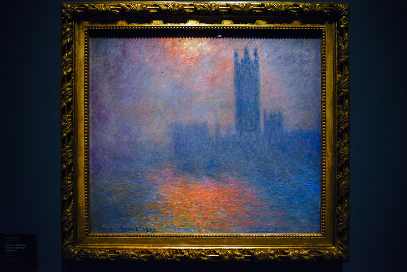 London House of Parliament, 1900, Claude Monet.
