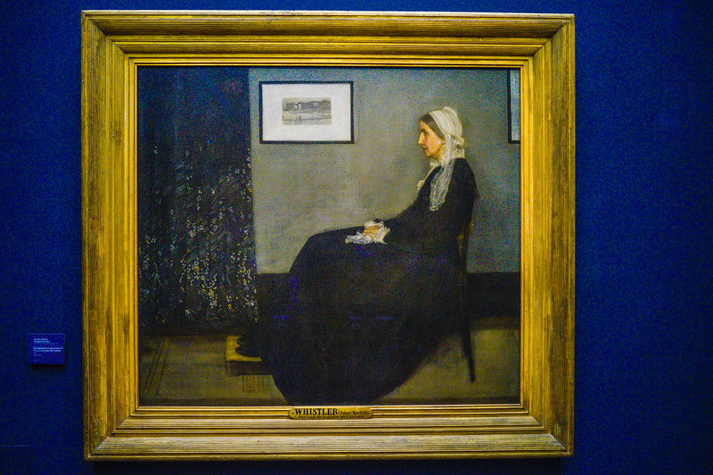 Whistler's Mother, James Abbott McNeil Whistler, 1871.