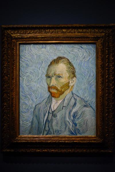 Self-portrait (1886) by Vincent van Gogh.