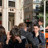 Café, Lyon, France.