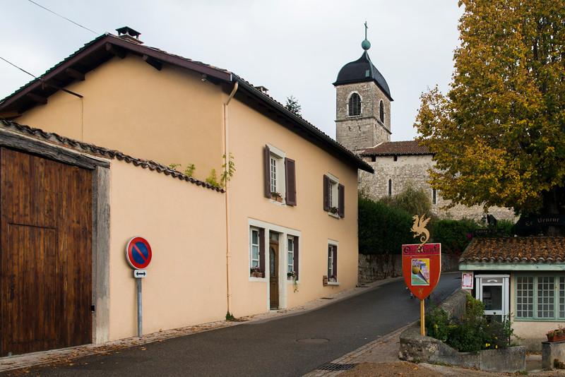 Église Sainte Marie, the main church.
