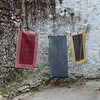 Laundry hangs in Favaios, a civil parish in the municipality of Alijo in Northern Portugal, an area known for its muscatel wines.