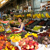 Offering fresh produce in the Bolhão traditional market  in Porto, reputed to be one of the finest in Europe.