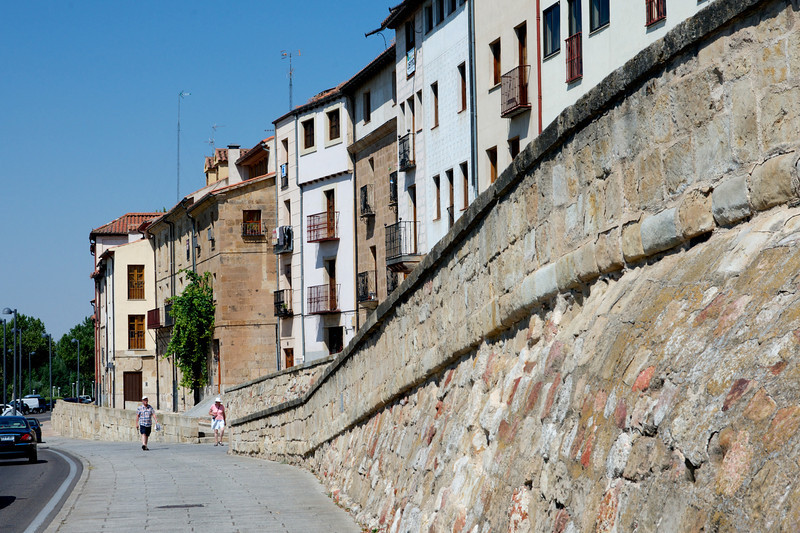 The old city wall.