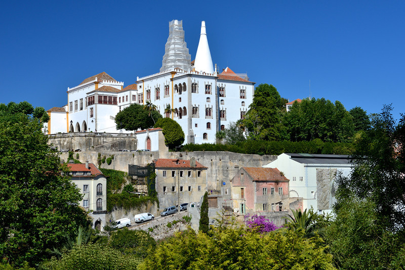Sintra's National Palace, the summer home of Portugal's kings.