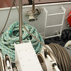 Steel cables for mooring the ship.