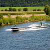 Cruising near Regensburg on the Danube River..