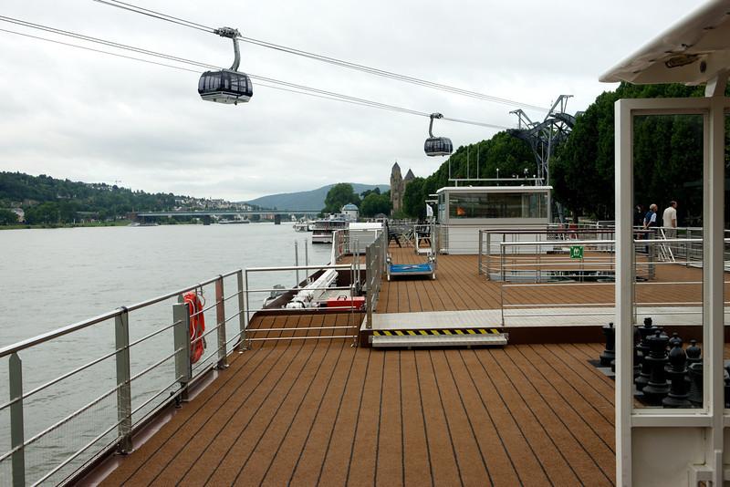 Arriving in Koblenz on July 18.