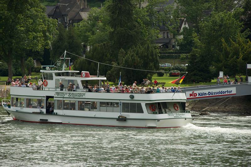 Local Rhine cruise ship.
