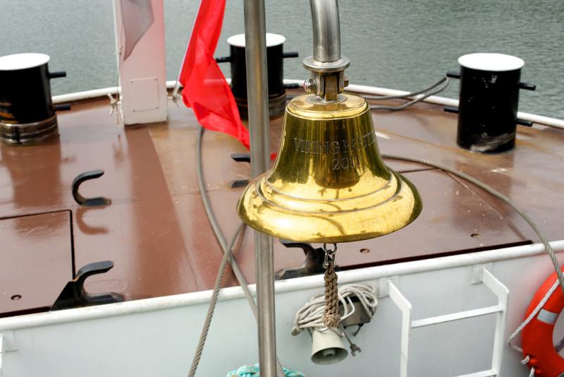 The Prestige ship's bell.