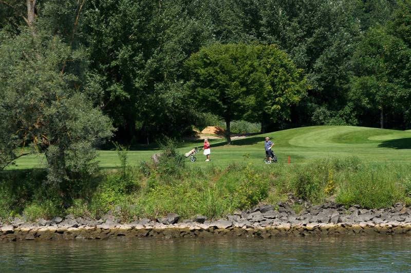 Golf course near Regensburg.