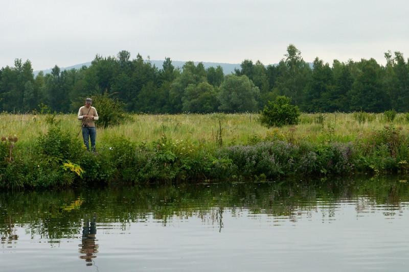 Fishing the Main.