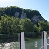 Danube Gorge where the Main-Danube Canal meets the Danube.