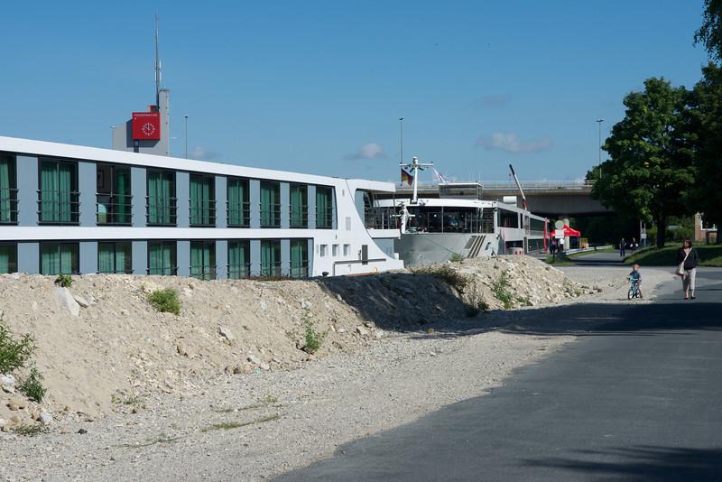 Docked in Nüremberg.