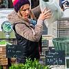 Vienne street marche (market) seller.