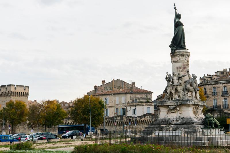Avignon, France, on the Rhone.