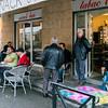 Arles café.