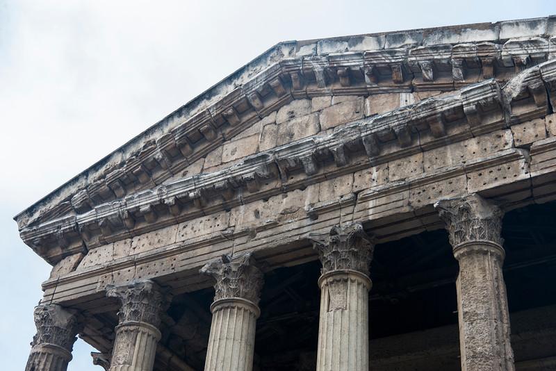 Temple d'Auguste et de Livie.