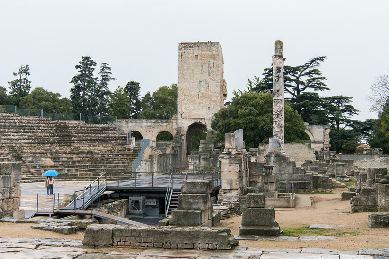 Arles Roman Theatre, known as the Théâtre antique d'Arles, is an Ancient Roman theatre  which was used for a variety of theatrical shows.