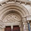Detail of the exterior, Église Saint-Trophime, Arles.