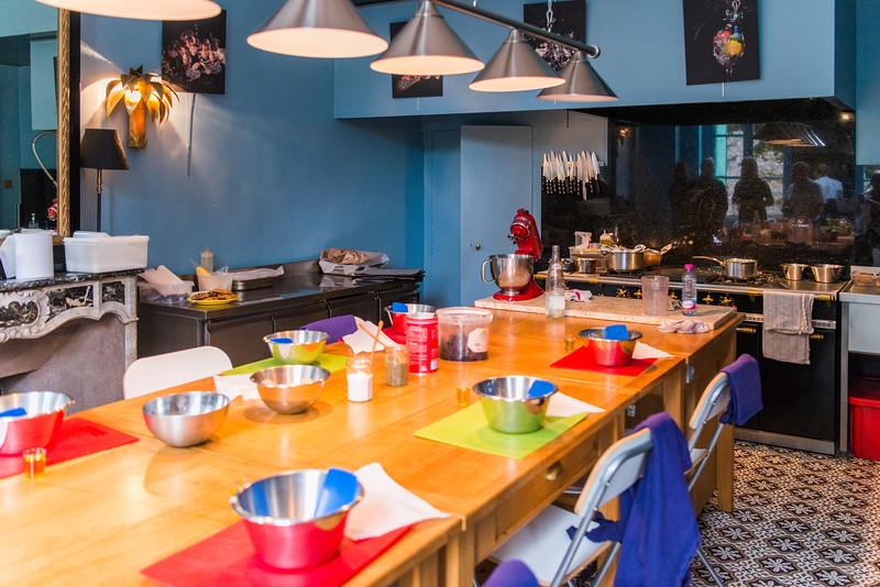 Demonstration kitchen.