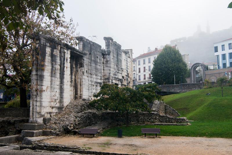 Jardin archélogique de Cybèle, in Vienne.