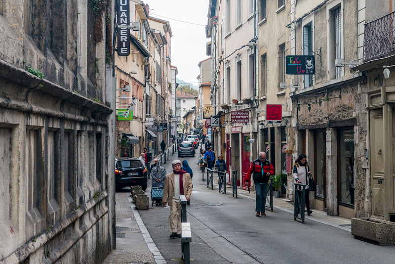 Vienne shooping district.